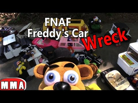 FNAF Plush Episode 70 - Freddy's Car Wreck