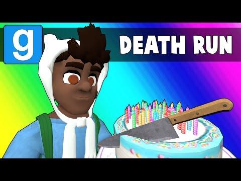 Gmod Deathrun Funny Moments - The Pain Facility! (Feat. BasicallyIDoWrk) (видео)