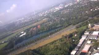 Leverkusen Germany  city photos gallery : Gliding over Leverkusen Germany - Winch Launch