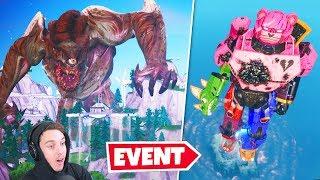 MONSTER vs ROBOT (best event ever)