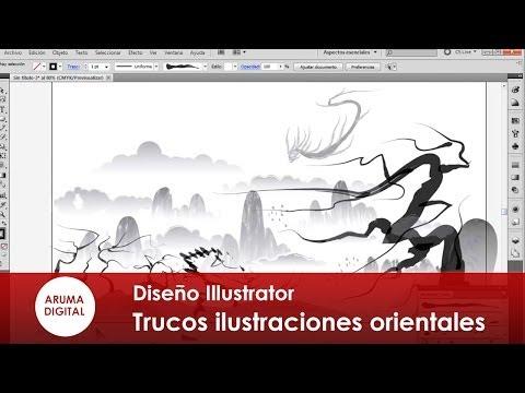Illustrator 017 Trucos para tus ilustraciones orientales