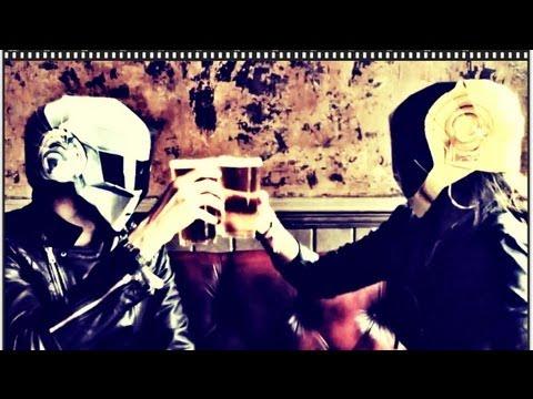 Daft Punk DIY cardboard Helmets