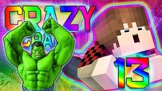 Minecraft: SUPERHEROES MOD HULK! Crazy Craft 2.0 Modded Survival w/Mitch! Ep. 13 Part 2 (Crazy Mods)