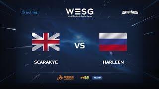 Scarakye vs harleen, game 1
