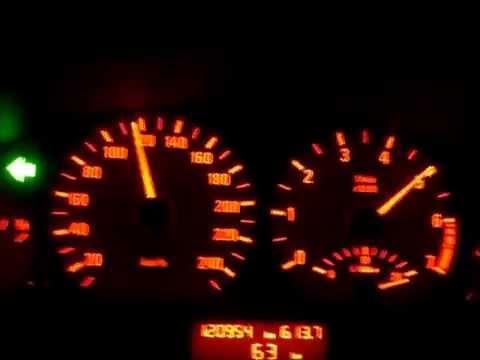 BMW 328i E46 0-200km/h
