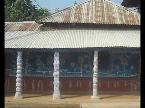 চাঁপাইনবাবগঞ্জের আলপনা-গ্রাম