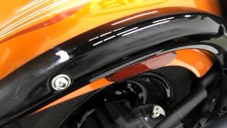 10. 2012 Kawasaki VN900C Vulcan 900 Custom Orange - used motorcycle for sale - Eden Prairie, MN