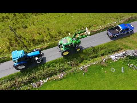 Killeen NS Tractor Run by Drone