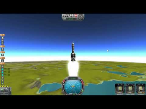 геймплей Kerbal Space Program