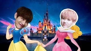 Video BTS As Disney Characters #2 MP3, 3GP, MP4, WEBM, AVI, FLV Juni 2018