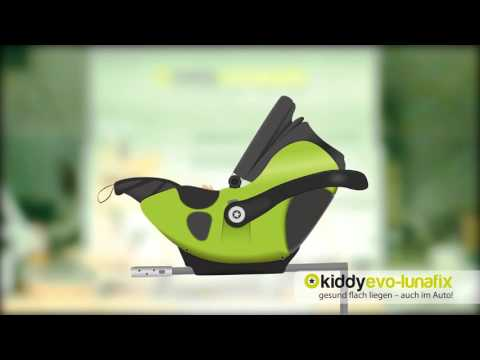 Автокресло Kiddy EVO-LUNAFIX LeMans гр.0+ (0-13кг) (41530EP075)