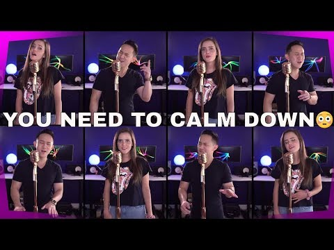 "Taylor Swift  ""You Need To Calm Down"" Cover by Tiffany Alvord"