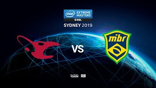mousesports vs MIBR - IEM SYDNEY 2019 - map2 - de_overpass [Anishared & PCH3LK1N]