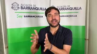 Vídeo: Alcalde Jaime Pumarejo apoya ampliación del aislamiento preventivo obligatorio