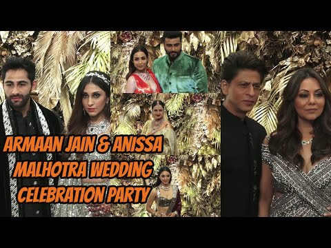 Bollywood Celebrities Attend Armaan Jain & Anissa Malhotra Wedding Celebration Party