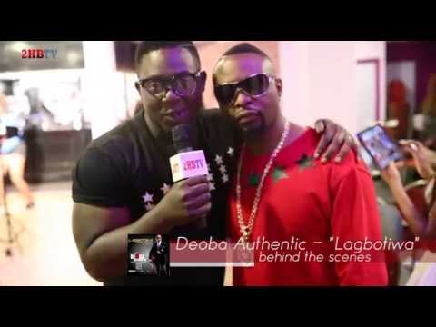 Deoba Authentic| Lagbotiwa Video Shoot [behind the scenes]