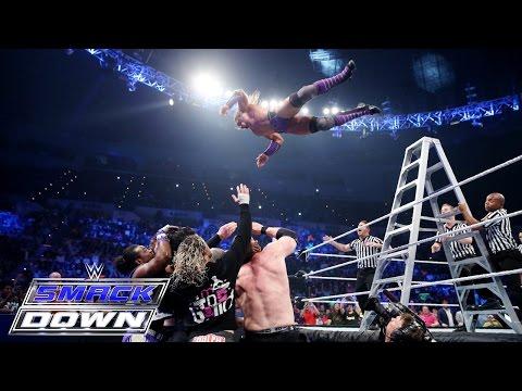 Roman Reigns, Randy Orton & Neville vs. Sheamus, Kane & Kofi Kingston: SmackDown, June 11, 2015