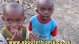 Two Young Ethiopian Boys Tell Me Their Age.