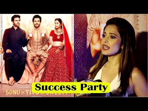Nushrat Bharucha At Success Party Of Film Sonu Ke Titu Ki Sweety