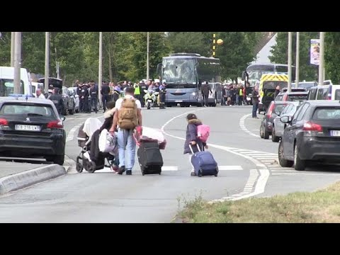 Frankreich: Flüchtlingslager am Ärmelkanal wurde geräu ...
