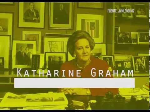 Katharine Graham: una mujer pionera
