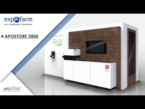 VidScan en el robot de farmacia Apostore 3000