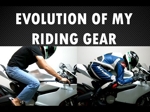 Evolution of My Motorcycle Riding Gear