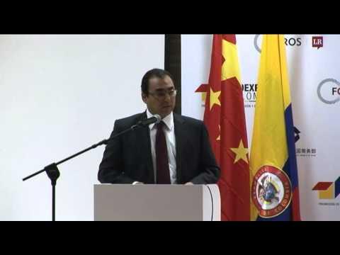 Palabras de MinComercio en Foro de Oportunidades en Comercio e Inversión con China