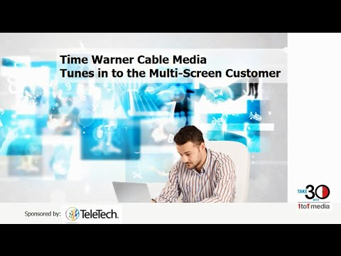 The Omni-Screen Customer: Time Warner Cable Tunes In