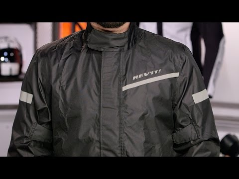 REV'IT! Cyclone 2 H2O Rain Jacket Review at RevZilla.com