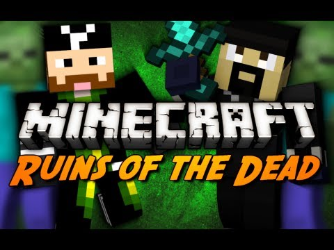 Ruins of the Dead - Part 3/4 (Minecraft Zombie Siege Mini-Game)