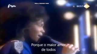 GREATEST LOVE OF ALL-WHITNEY HOUSTON-TRADUÇÃO-LEGENDADO PT BR-ANO 1985 ( HQ )