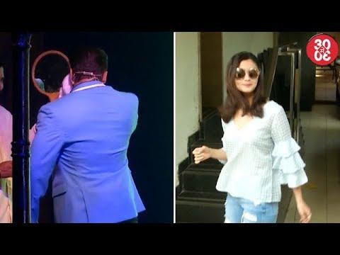 Salman Couldn't Handle The Mumbai Heat At A Laun