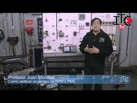 Como verificar un sensor de RPM y PMS