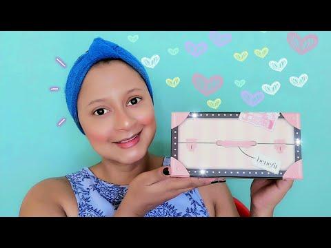 Maquillaje de 0 a 100 con productos nuevos.