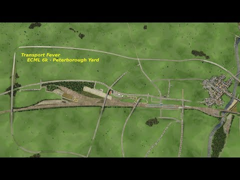 Transport Fever ECML Map - Peterborough Yard update