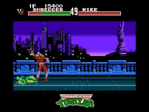 Teenage Mutant Ninja Turtles : Tournament Fighters NES
