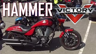 2. Victory Hammer S - Ride, review and walkaround - First Super Cruiser ride!