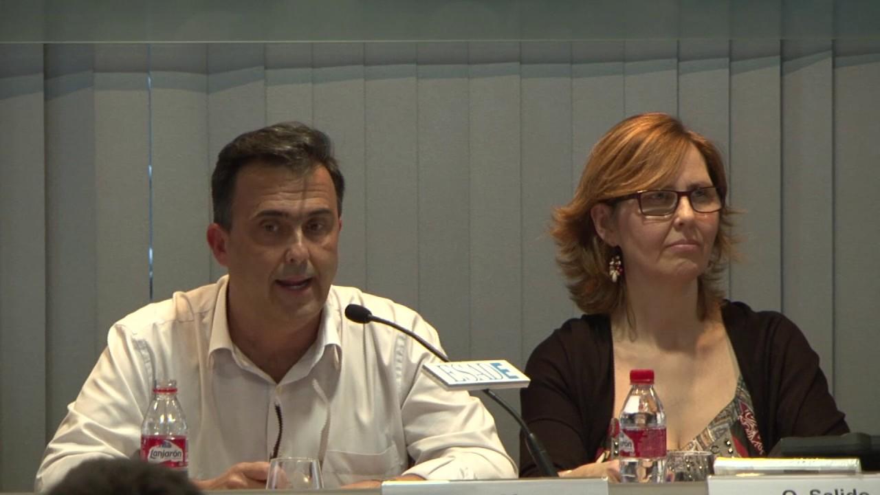 Debate sobre desigualdad con Intermon Oxfam - 28/2/2017