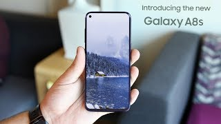 Samsung Galaxy A8s - Hole in Bezel-less Display