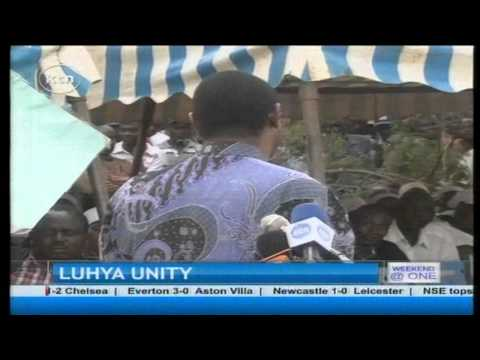 political rivalry between bungoma senator moses wetangula