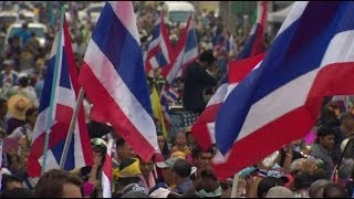 Reporting From Thailand's Continuing Protest - BBC News