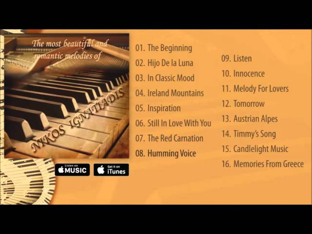 Nikos Ignatiadis - The most beautiful and romantic melodies Album Pre-listen [Official]