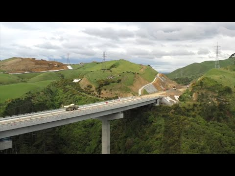 Ngāti Toa names key structures on Transmission Gully motorway