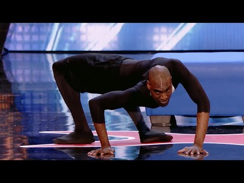 Contortionist Twisty Troy James SHOCKED The Judges on America's Got Talent 2018 (видео)