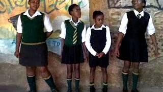 Hammanskraal South Africa  city pictures gallery : Mmatlhame pupils (Maubene, Hammanskraal, South Africa)