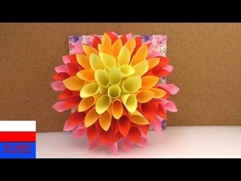 Jak zrobić kwiaty z papieru