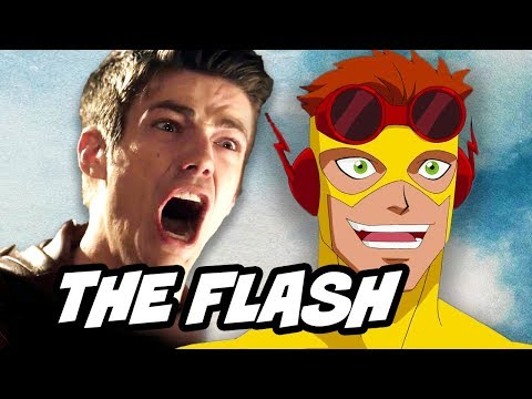 Young Justice Season 3 - The Flash Death and Rebirth Scene Explained