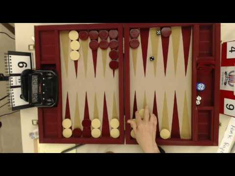 Michigan Backgammon 2016   Ben Friesen vs Bill Robertie   Main