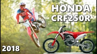 5. 2018 Honda CRF250R in Action (+Review)